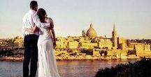 Malta Weddings / Malta is a great choice for a romantic, warm, beach side wedding.