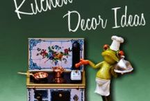 Kitchen Decor Ideas / Art, color themes and accessories to help you decorate your perfect kitchen.
