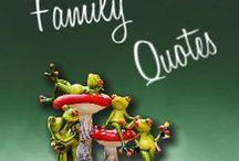 Family Quotes / Love 'em or hate 'em, they are still your family. But they definitely give us a lot to say! That's why I go out searching for the best quotes about family.