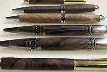 Wooden pen.