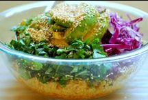 WHOLE FOODS RECIPES / Organic, whole foods recipe inspiration, made with seasonal ingredients.