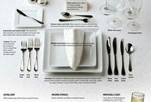Entertaining / Fun stuff to help you set a great table. #FinishWithFlowers / by Flower Duet