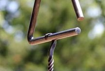 ACORN HILL HANDCRAFTS / Acorn Hill Handcrafts on Etsy.  Metal that is hand-forged  in a traditional coal forge, and wood pieces that have been shaped from sustainably harvested timber. Items of function and beauty, for your home or one-of-a-kind gifts, made with love on our off-grid homestead in Northeast Missouri.   https://www.etsy.com/shop/AcornHillHandcrafts