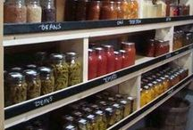 HOMESTEAD PANTRY / Inspiration for a gorgeous, well-organized, and well-stocked homestead pantry.