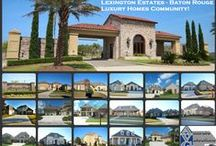 Lexington Estates Baton Rouge LA 70810 / Home Styles in Lexington Estates Subdivision Baton Rouge LA 70810 / by Bill Cobb