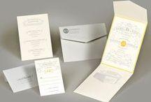 Cincinnati By Design / wedding stationery: invitations, saves the dates, wedding programs, thank you cards, etc