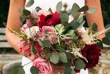 2015 Pantone Color Marsala Flowers / All About Marsala! #FinishWithFlowers / by Flower Duet