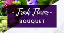 ORCHIDYA // Fresh Flower Bouquet