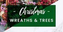 ORCHIDYA // Christmas Wreaths & Trees
