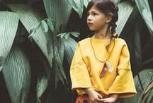 Kids style / Beautiful children's clothes and images