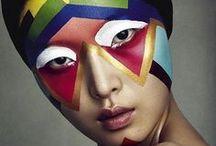 Face painting inspiration / Festival ideas, fancy dress make-up ideas