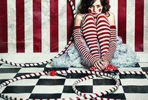 Photoshoot: vintage circus