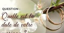 Mariage - Questions