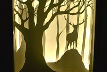 Paper Cutting - Use of Light