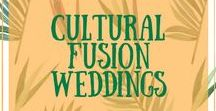 Cultural Fusion Weddings / The merging of two cultures coming together in marriage and celebrating their cultures in their wedding - it's inspirational and beautiful to see.