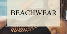 Beachwear / Dazzling in the sea ideas and inspiration