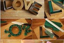DIY mariage / DIY Mariage - Des idées créatives à réaliser pour la décoration de son mariage.