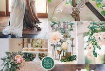 Ambiances & couleurs / Des palettes de couleurs et des moodboards pour imaginer votre mariage.