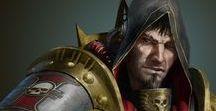 Warhammer 40k / Great 40k artwork.