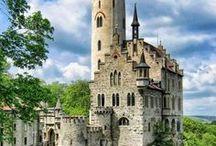 дворцы и города реальные и фэнтезийные