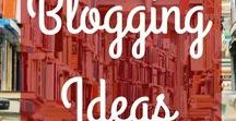Blogging Ideas / Blog ideas to help you with starting a blog, figuring out what to blog about, choosing blog topics, finding the best blogging tools, using Pinterest tips to drive more traffic to a blog, and lots of other blogging tips.