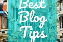 Best Blog Tips / Blog tips and advice to help you with starting a blog, figuring out what to blog about, choosing blog topics, finding the best blogging tools, using Pinterest tips to drive more traffic to a blog, and lots of other blogging tips.