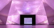 Our Ambient Gem project included an environment inspired by the facets of a cut gemstone.