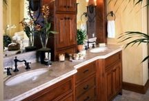 Bathrooms / by Angie Byerly