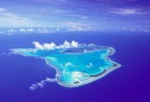 Cook Islands / 15 islands in the heart of the South Pacific spread over 850,000 square miles with a population of approximately 15,000. The Islands most visited are Rarotonga and Aitutaki which are only 140 miles apart.