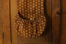 early pockets and fine sewing / by Christine Crocker ~ Deerfield Farmhouse