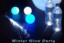 Winter glow party