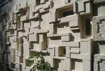Feature wall / Shenton park wall