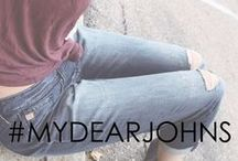 |SELFIE| / A highlight of our favorite Dear John products styled to perfection--Snap a selfie & #mydearjohns