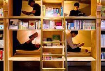 Design for reading / We all need to read in order to inspire us, but before we read, we need something to encourage us. They can be space, cards, bookshelves that attract and remind us to do so.