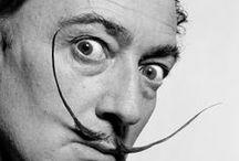 "Salvator Dalì / ""I don't do drugs. I am drugs.""  Salvador Dalí"