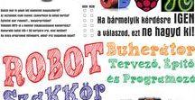 Robot buhera TÉP / Robot buherátor TÉP (tervező, építő, programozó) szakkör