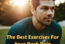 Back Pain Exercises / Discover the best exercises for your lower back pain, including stretching, core strengthening and yoga poses.