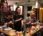 Schmink Workshop / Schmink workshops gegeven door Carpe Diem Festum onder leiding van Wanda Kleurrijk.