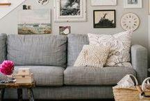 Home Ideas / Decorating, furniture, and style ideas for the home...and specifically, the apartment.