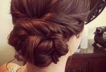 Hair & Makeup / Lots and lots of bridesmaid up-do ideas and some fun hair and makeup to try someday, too.