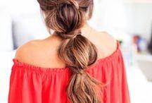 Hair Affair / Easy hairstyles, tips, cute looks.