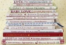 Book ♥ / Books I have and love and ways to decorate with books