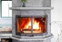 My Tulikivi fireplace / This board showcases Tulikivi fireplaces installed around the world. Get inspired!