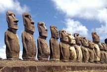 Historical Stone Monuments / Many of the world's ancient iconic wonders are made of stone.