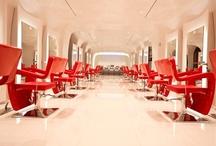 Beauty Salon Gallery / Beauty Salon Designs by Gamma & Bross - Hair Salon Decor and Ideas