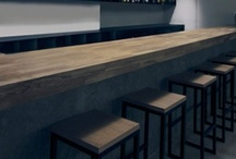 Interiors - Bars / Counters / by Luke Smith