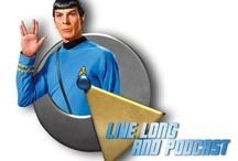 Star Trek / Star Trek Worshiped Weekly at http://www.LiveLongAndPodcast.com / by Dave Mader