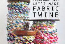 Tejido & Costura / Hilo, tela, lana y costura. Ideas para inspirar