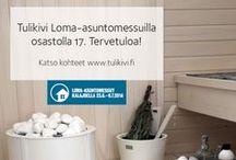 Loma-asuntomessut 2014 / Loma-asuntomessut 2014 järjestetään Kalajoen idyllisillä Hiekkasärkillä. Meren tuntumassa sijaitsevalla messualueella on yhteensä 28 kohdetta, joista 15 kohteen sisustuksessa on käytetty Tulikiven takkoja, kiukaita ja tasoja.  #lomaasuntomessut #kalajoki