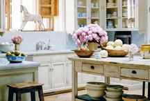 Vintage Kitchens / vintage for the kitchen and dining room